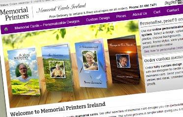 Memorial Cards Ireland
